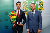 Спортсмены ТУСУРа награждены знаками отличия