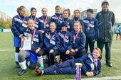 Сборная ТУСУРа – победитель чемпионата Томской области по футболу среди женщин