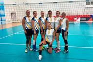 Преподаватель ТУСУРа взяла второе место в первенстве России по волейболу среди команд ветеранов