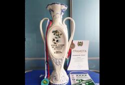 Команда ТУСУРа вошла в число победителей в осеннем турнире пофутболу