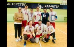 Студенческая команда ТУСУРа по волейболу заняла первое место на фестивале спорта в ТПУ