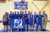 Тусуровская сборная по баскетболу стала единственной командой из Томска на первенстве России среди ветеранов