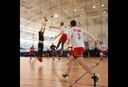 Тусуровские волейболисты заняли второе место на Кубке области