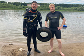 Аквалангисты ТУСУРа провели экологическую акцию на озере Сенная Курья