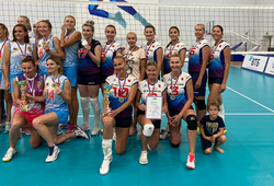 Преподаватель ТУСУРа стала призёром на всероссийских соревнованиях по волейболу среди ветеранов