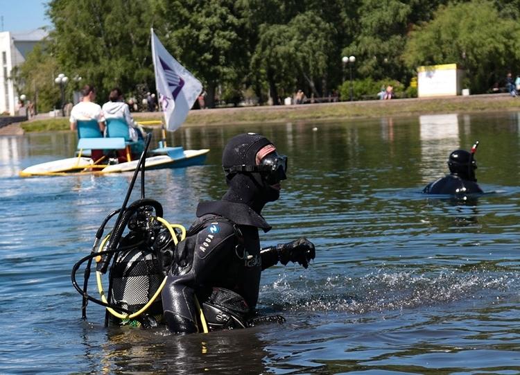 Традиционная акция клуба «Наяда» ТУСУРа поочистке отмусора томских озёр