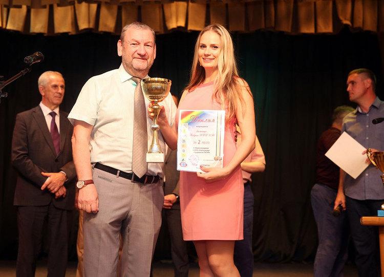 Кубки победителей: вручение наград заспортивные достижения